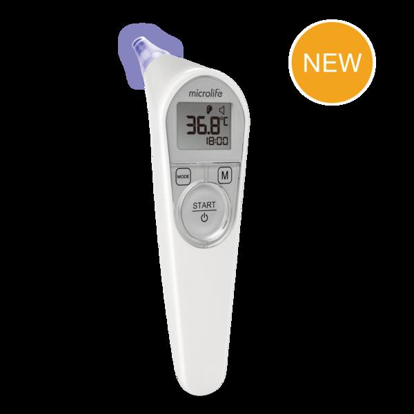 Ушной термометр с системой наведения для точного позиционирования IR 200