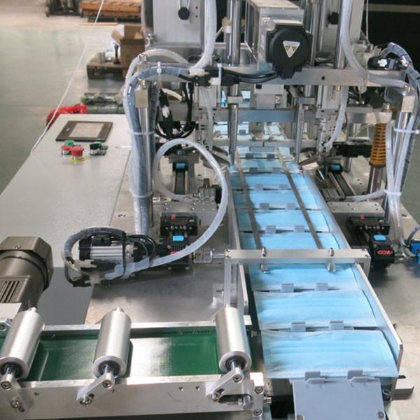 Автоматическая линия по производству одноразовых медицинских масок