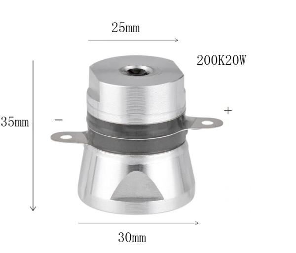 Ультразвуковой преобразователь 20 Вт 200 кГц