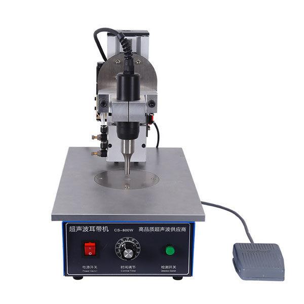 Портативный полуавтоматический ультразвуковой аппарат для точечной сварки ушной петлей 35K Гц 800 Вт