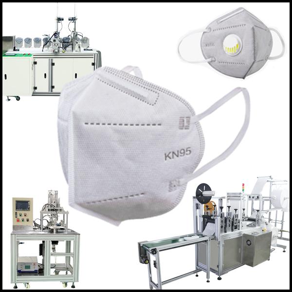 Производство масок KN 95