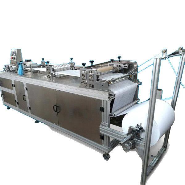 Линия по производству одноразовых шапочек шарлотта из нетканых материалов HG-200